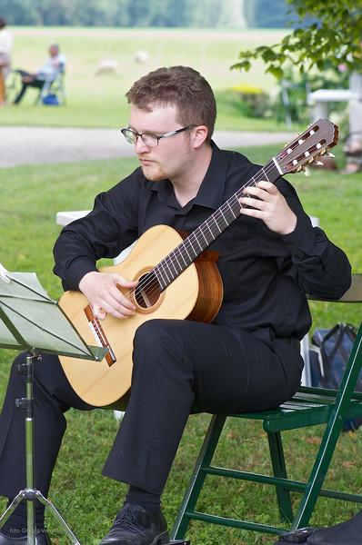Bruno Zanchetta (chitarra) - parco de il Torrione
