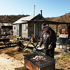 Tom and Stephanie made it their project to restore Walt's cooking spot using one of his spare barbecue pits. It was such a correct thing to do, I almost cried.