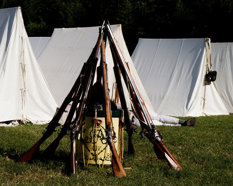Yorktown Rifles and Drum<br /> October 21, 2006