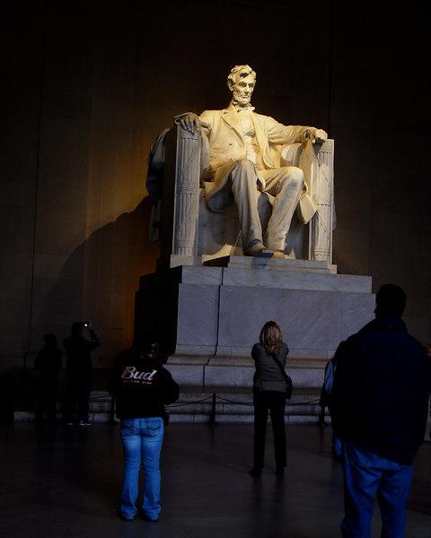 Lincoln Memorial<br /> Washington, D.C.<br /> October 24, 2006