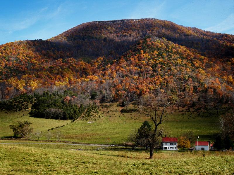 Catawba Valley <br /> near Roanoke, Virginia<br /> October 31, 2006