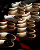 Wooden Shoes for Sale<br /> Yorktown National Battleground<br /> Washington Cornwallis Engagement<br /> October 21, 2006
