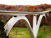 Bridge near Nashville, TN<br /> Natchez Trace Parkway<br /> November 5, 2006