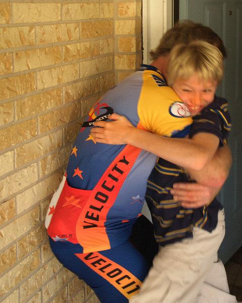 Homecoming (Big hug for Kevin)<br /> Austin, Texas<br /> 19 November 2006