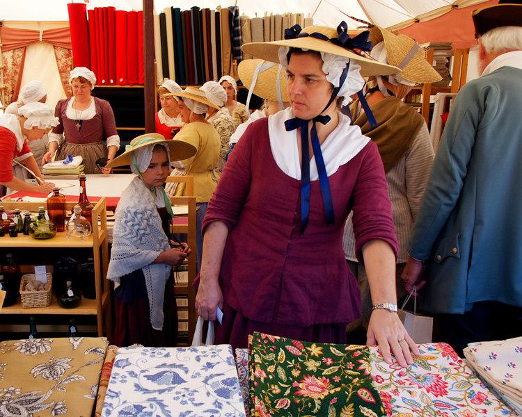 Fabric for sale - Tent in Yorktown, Virginia<br /> October 21, 2006