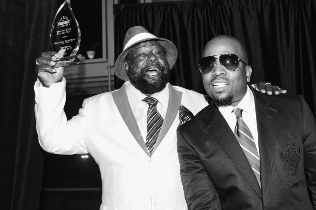 Big Boi Honors Legendary George Clinton- Champion Of The Arts 2012