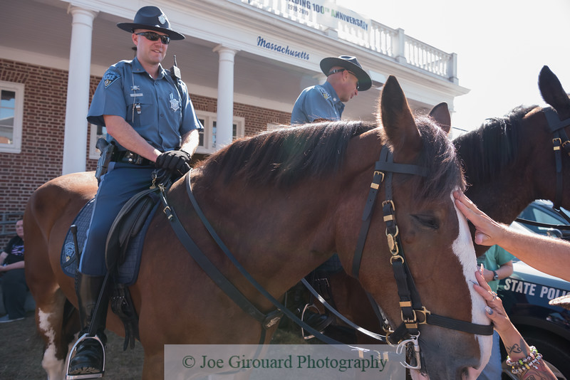 Massachusetts State Police, Mounted Unit at The Big E