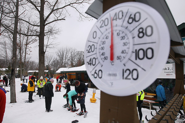 Bigfoot Snowshoe Race, Jan. 19, 2013