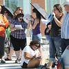 Applicants for Saturday's open casting call for The Biggest Loser 11 wait in line with family and friends at Broomfield's 1st Bank Center.<br /> July 17, 2010<br /> Staff photo/ David R. Jennings
