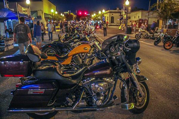 Bike Weekend, PHSC Peace Week, Walks, New Port Richey FL 10 11 2014