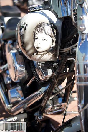 Concentration motos Le Flon Lausanne Oct 2010