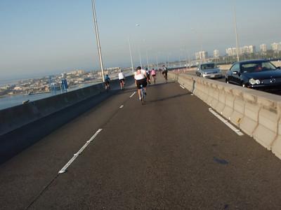 We're on the bridge!