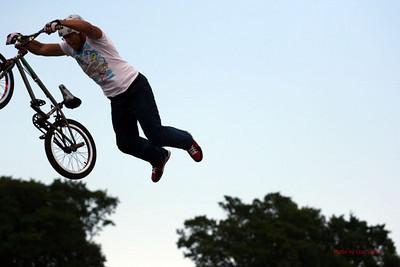Bike tricks and Chicago Criterium