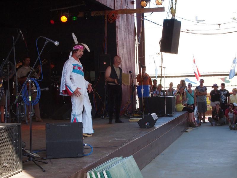 Hoo!  Ha!  bunny man