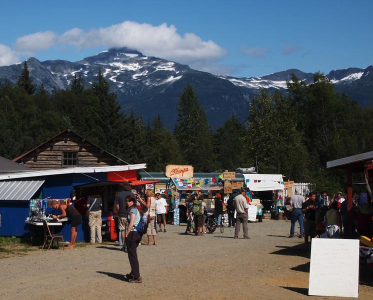Jeanette enjoys the SE Alaska fair