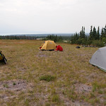 camping with Nicolas and Sandra on Boutillier Summit
