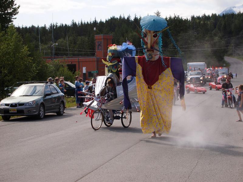 Crazy Haines parade