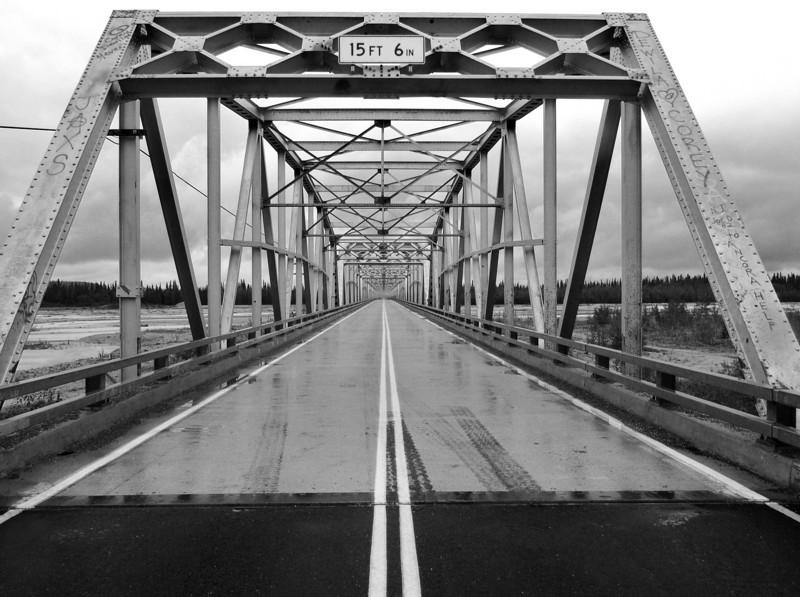 Black Veteran's Bridge over Little Gerstle River