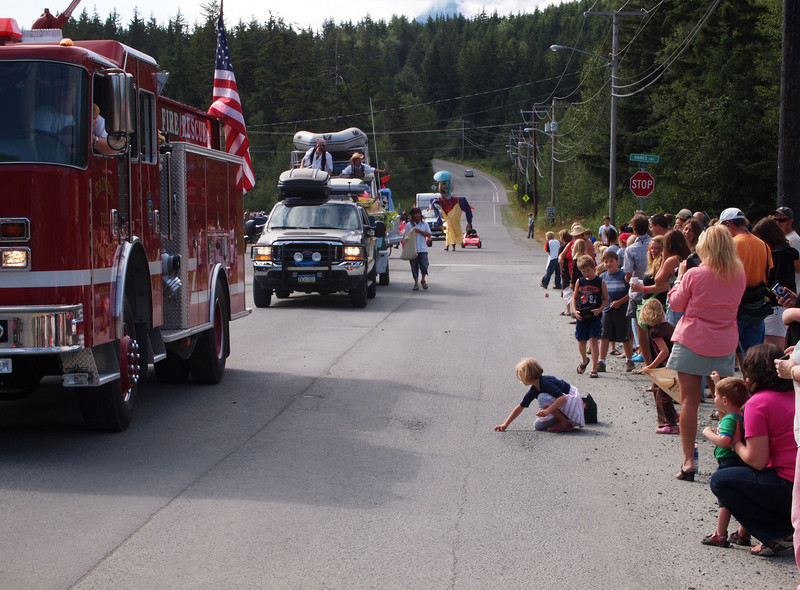Parade, Haines, AK