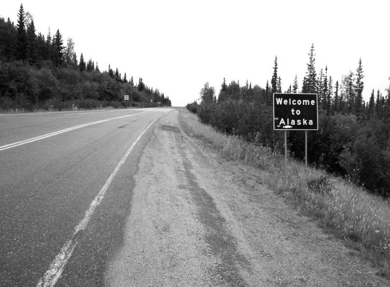 coming into Alaska from the Yukon Territory