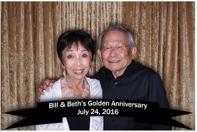 Bill & Beth's golden anniversary