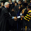 Former President Bill Clinton shakes hands of attendees at the 2009 FAMU Graduation held on May 3, 2009 at FAMU in Tallahassee, FL.