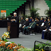 Former President Bill Clinton gives a speech at the 2009 FAMU Graduation held on May 3, 2009 at FAMU in Tallahassee, FL.