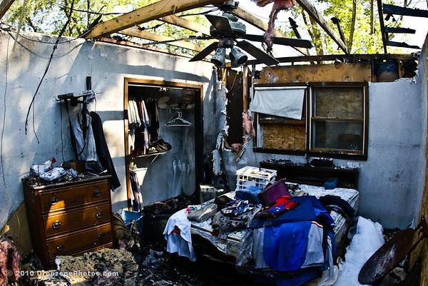 Bill Freeman House Fire 2010