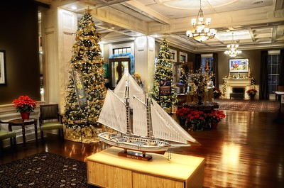 Deck the Halls at Biloxi Visitors Center