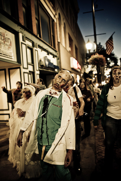 Binghamton Zombie Walk 2010