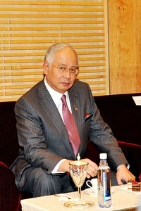 Malaysia's Prime Minister - photo taken during the BioMalaysia event at KLCC