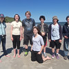 """...and this group of young birders from Drumlin Farm (the future of Bird-a-thon!).  <font size=""""2"""">Photo by Becky Gilles</font>"""