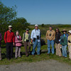 """Other teams gathered and began their explorations like this group from Habitat that went to Plum Island...  <font size=""""2"""">Photo by Paul Roberts</font>"""