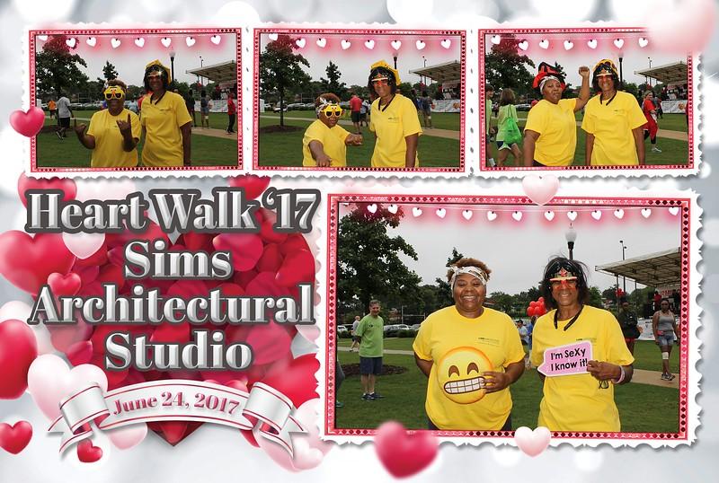 Sims Architectural Studios - Birmingham HeartWalk 2017