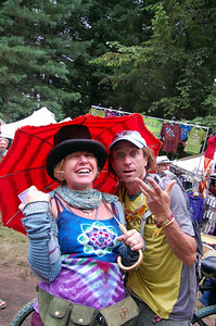 Wendy & Harpo hamming it up