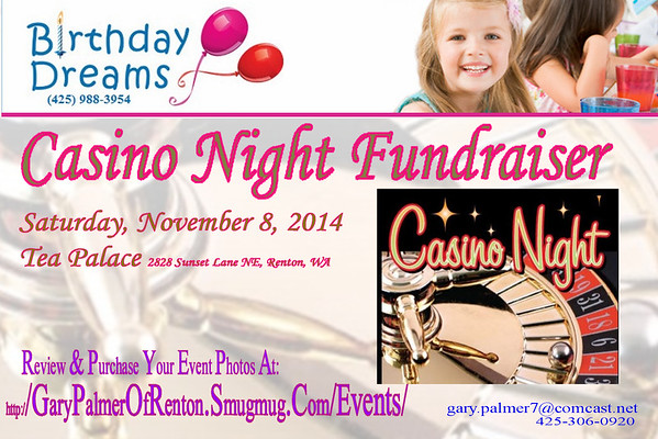 Birthday Dreams Casino Night Fund Raiser