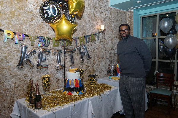 Keith Salters 50th