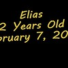 Elias, 2 years old