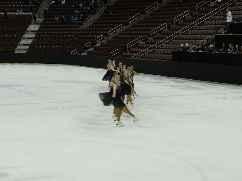 Easterns Synchronized Skating Competition in Hershey, PA