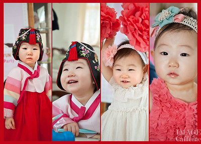 Jooah Yun's one year old Birthday Party