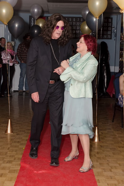 Ozzy & Sharon Osborne