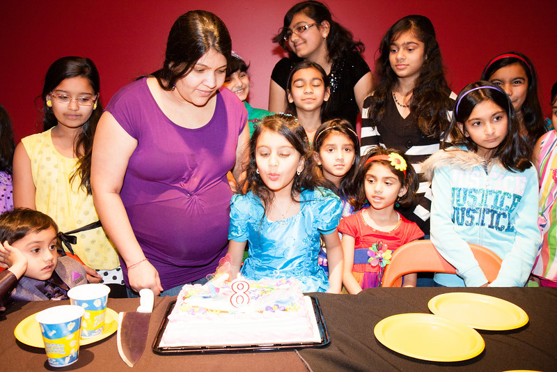 Sakshi's 8th Birthday