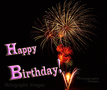 Happy Birthday! Easy Share Image, Look for Share Button Upper Right of Your Screen