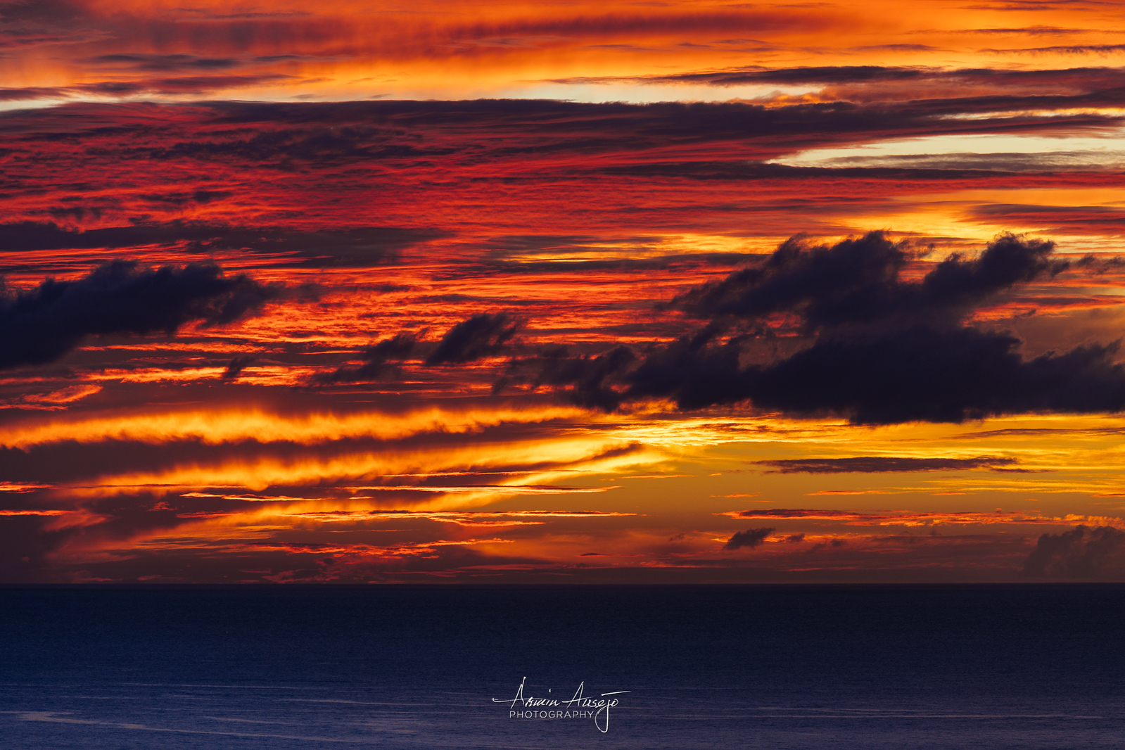 North Shore sunset clouds with the Nikkor 300mm f/4E PF ED VR