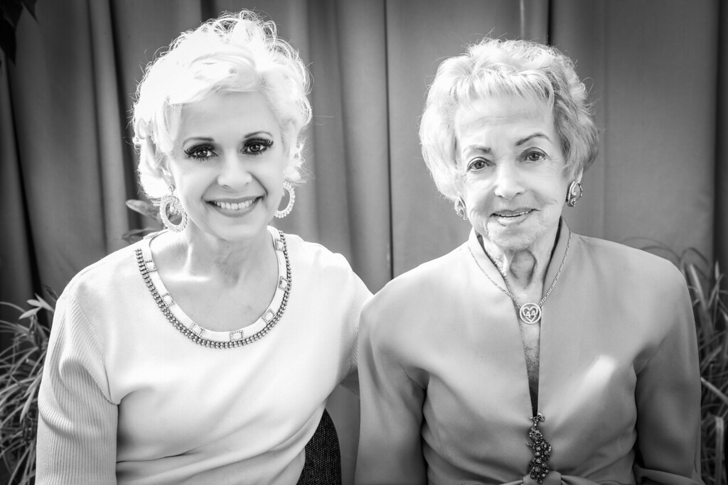 Debbie and Milly, two of the most incredible women I know.
