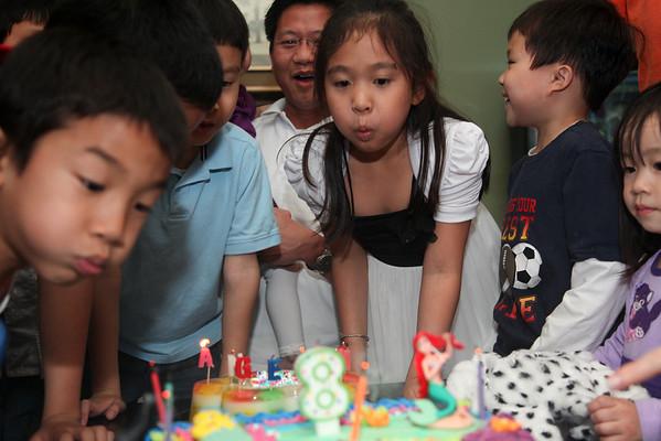 Angelina 8th birthday