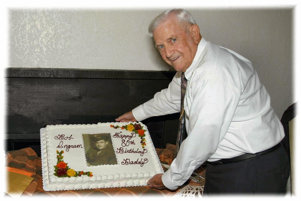 Bob Ingram's 80th Birthday