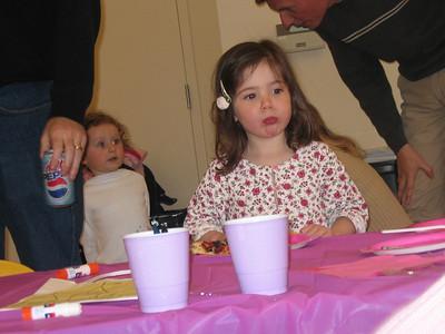 Karina's 3rd birthday party: 3/26/06