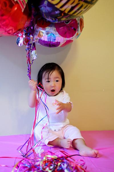 Kelly's 1st birthday