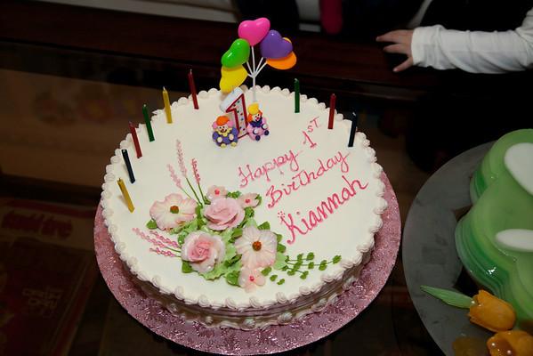 Kiannah 1st Birthday